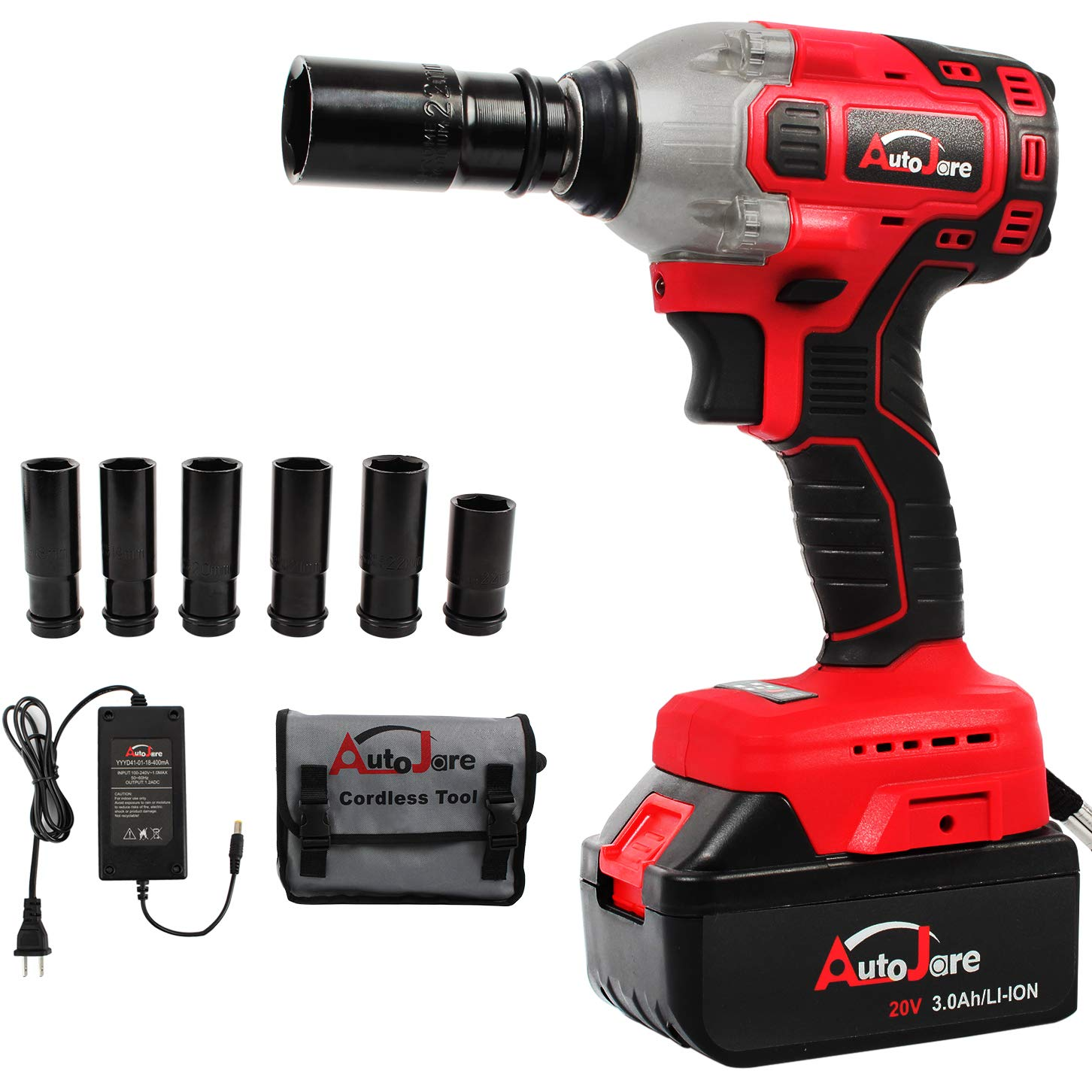 AUTOJARE Cordless Impact Wrench Review